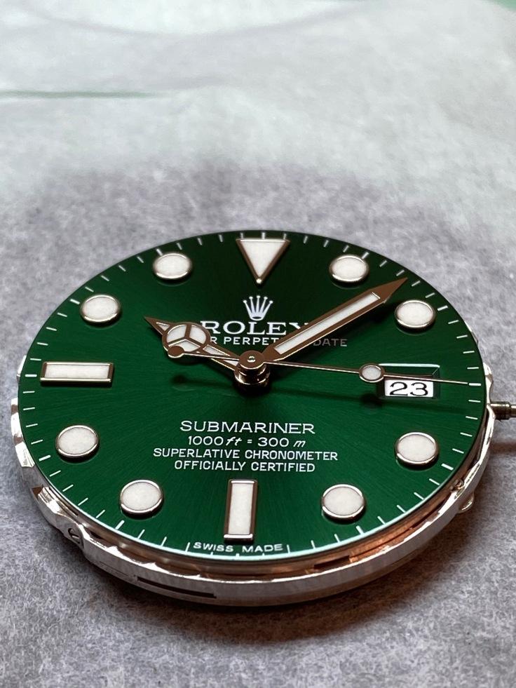 Rolex submariner the hulk