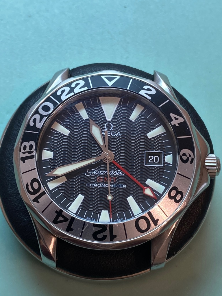 Omega seamster GMT