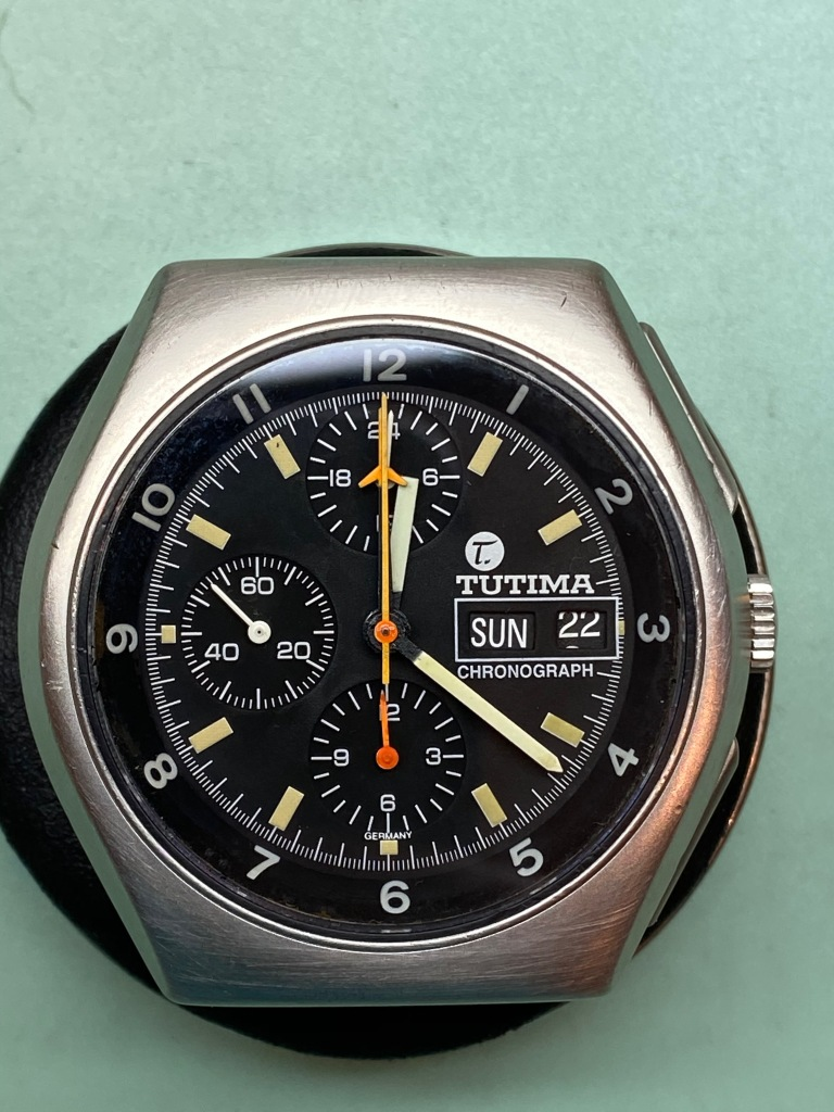 Tutima Military Chronograph