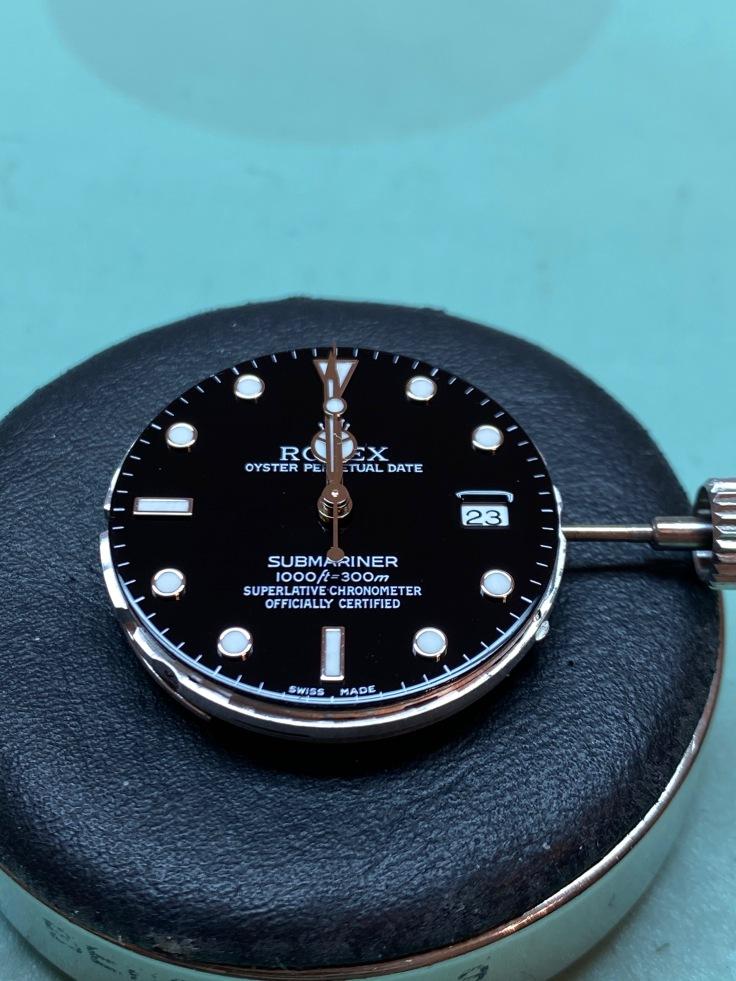 Rolex Submariner service