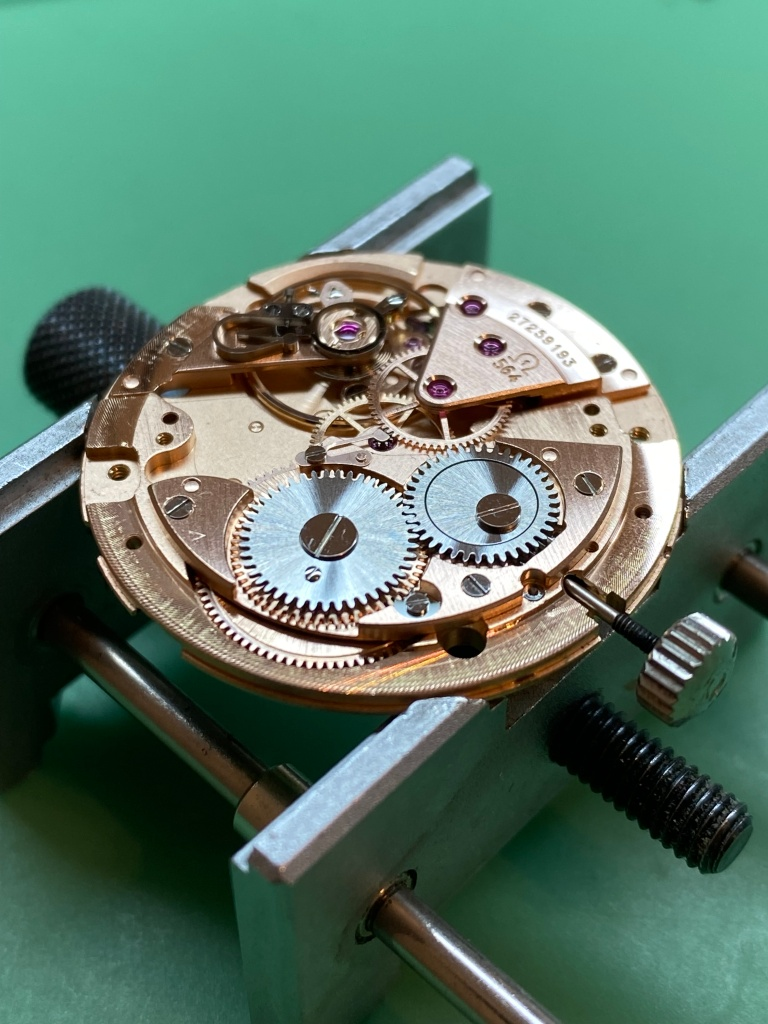 Omega calibre 564 service